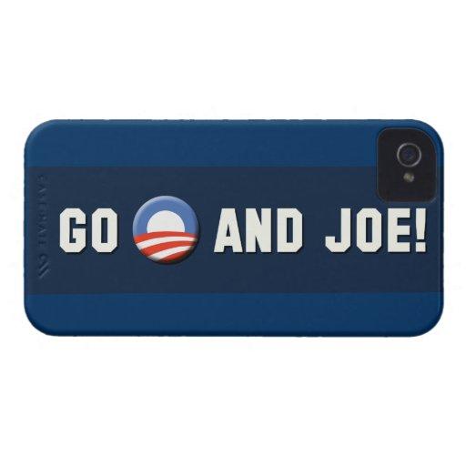 """¡Obama - van """"O"""" y Joe! iPhone 4 Protectores"""