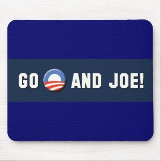 """¡Obama - van """"O"""" y Joe! Tapete De Ratones"""