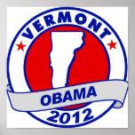 Obama - Vermont Impresiones