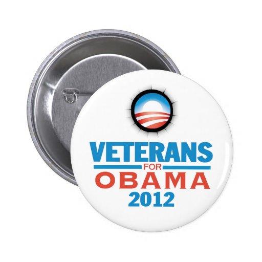Obama Vets 2012 Button