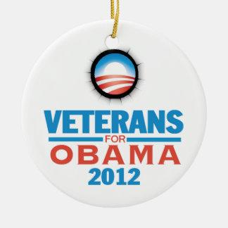 Obama Vets 2012 Ornament
