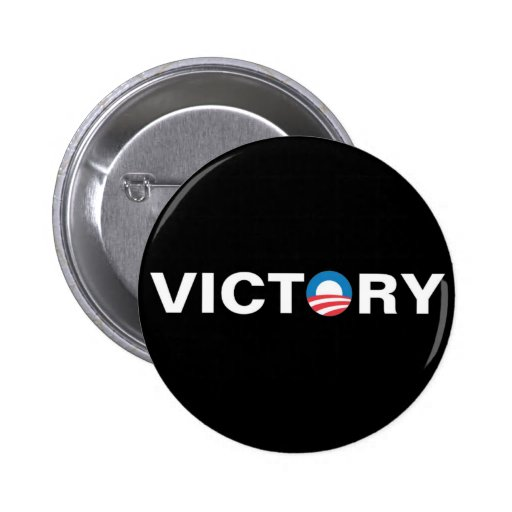 Obama - victoria pin