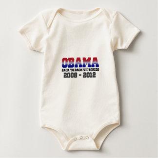 Obama Victory 2008 - 2012 Bodysuit
