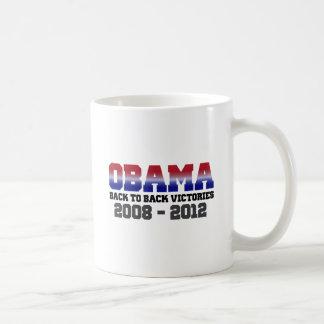 Obama Victory 2008 - 2012 Classic White Coffee Mug