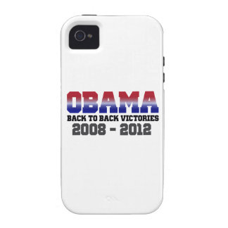 Obama Victory 2008 - 2012 iPhone 4 Cases
