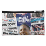 Obama Victory 2008/2012 Medium Sueded Bag Cosmetic Bag