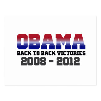 Obama Victory 2008 - 2012 Post Cards