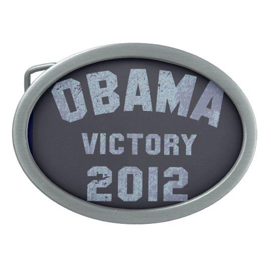 Obama Victory 2012 Belt Buckle