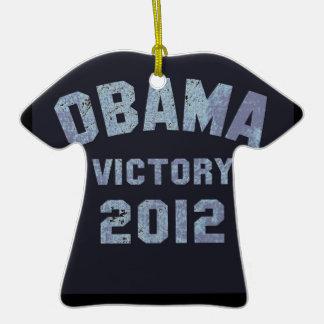 Obama Victory 2012 Christmas Ornaments