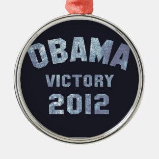 Obama Victory 2012 Christmas Tree Ornament