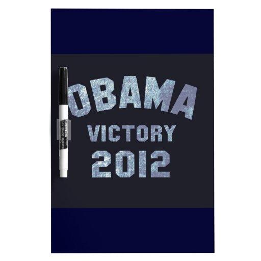 Obama Victory 2012 Dry Erase Whiteboards