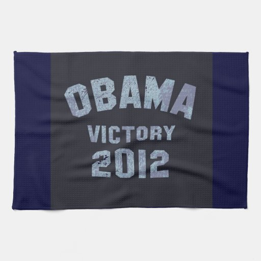 Obama Victory 2012 Hand Towels