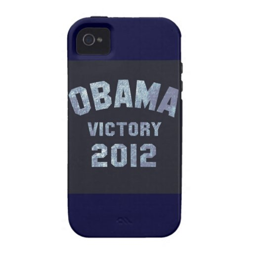 Obama Victory 2012 iPhone 4 Cover