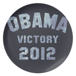 Obama Victory 2012 Party Plate