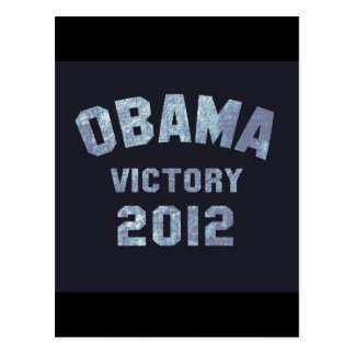 Obama Victory 2012 Post Card