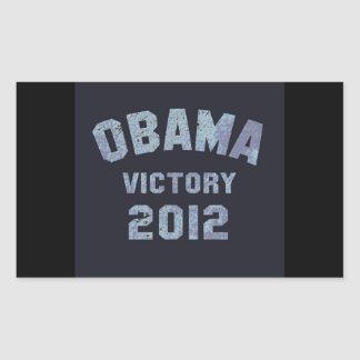 Obama Victory 2012 Stickers