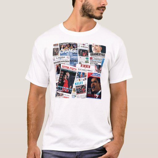 Obama Victory Around the World T-Shirt