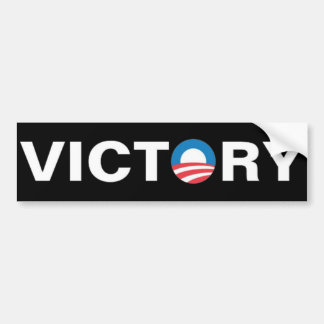 Obama - Victory Car Bumper Sticker