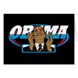 Obama Victory Card