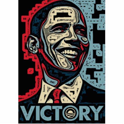 Obama Victory Photo Sculpture