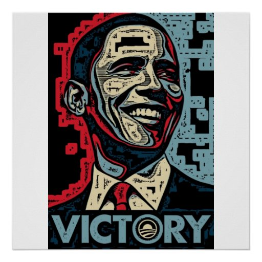 Obama Victory Poster