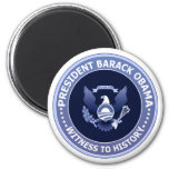 Obama Victory Presidential Seal Button Magnets