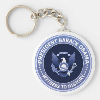 Obama Victory Presidential Seal Keychain