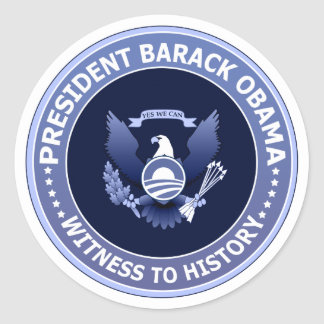 Obama Victory Presidential Seal Sticker
