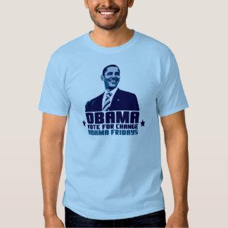 ¡Obama viernes! Remeras