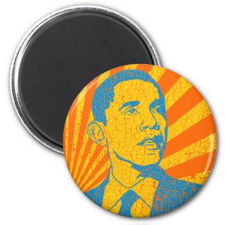 Obama Vintage 2 Inch Round Magnet