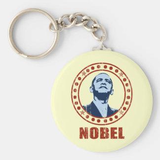 Obama Vintage Nobel Peace Prize Keychain