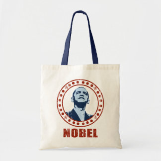 Obama Vintage Nobel Peace Prize Tote Bag