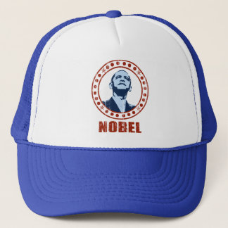 Obama Vintage Nobel Peace Prize Trucker Hat