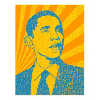 Obama Vintage Postcard