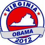 Obama - virginia acrylic cut outs