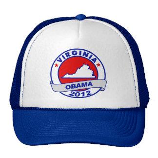 Obama - virginia trucker hats