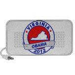 Obama - Virginia Laptop Altavoz