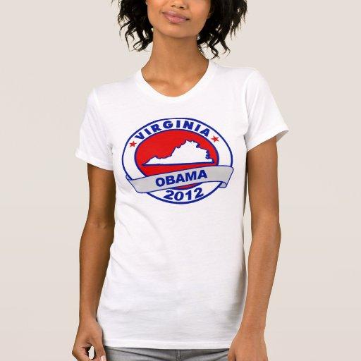 Obama - virginia t-shirt