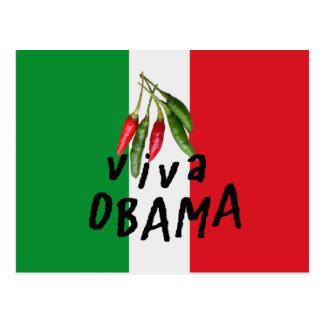 Obama VIVA Postcard