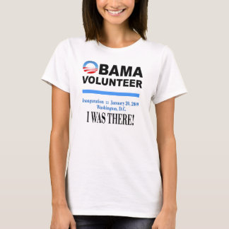 Obama Volunteer T-Shirt