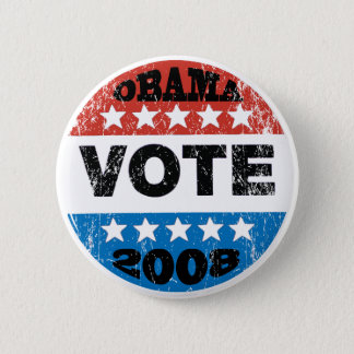 Obama Vote 2008 Button