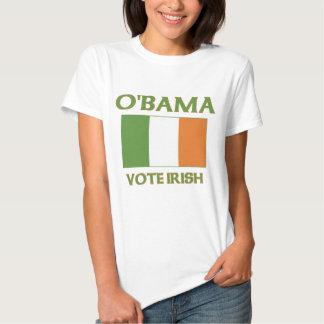 Obama Vote Irish T Shirt