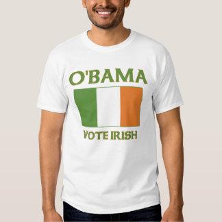 Obama vote Irish t shirts