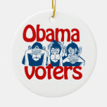 Obama Voters Christmas Ornament