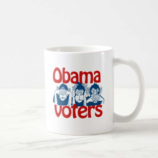Obama Voters Classic White Coffee Mug