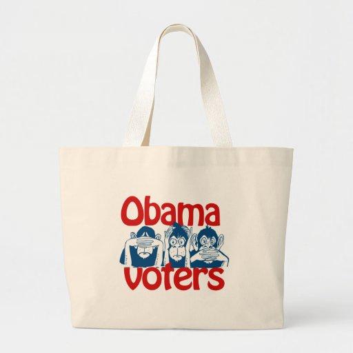 Obama Voters Jumbo Tote Bag
