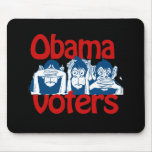 Obama Voters Mouse Pads