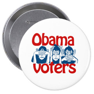 Obama Voters Pinback Button
