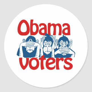 Obama Voters Stickers