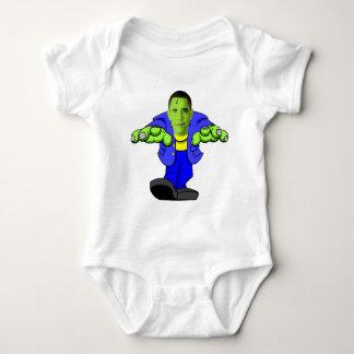 Obama vs America Baby Bodysuit